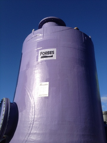 Forbes Dual Laminate Tank - Polypropylene and GRP for Chemical Storage