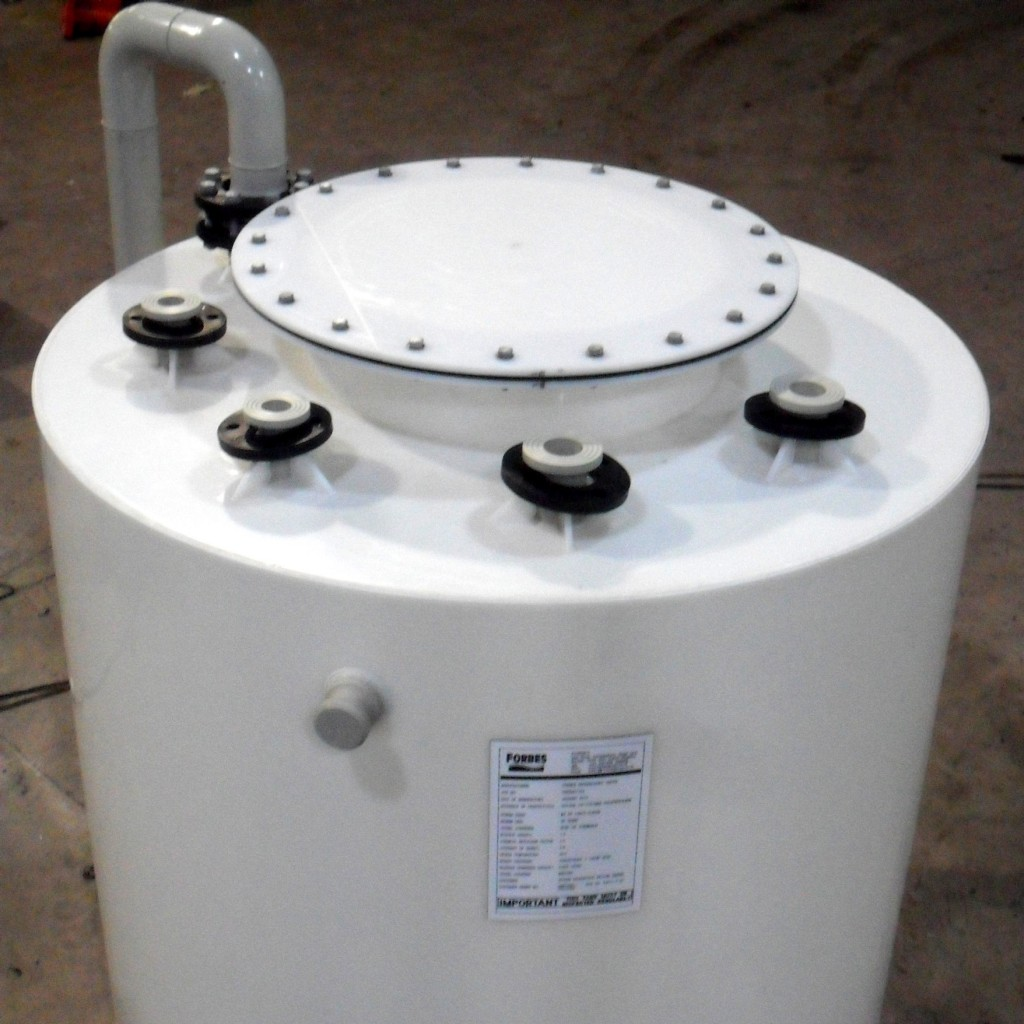 Small Thermoplastic Polypropylene Water and Chemical Storage Tanks Manufactured in UK