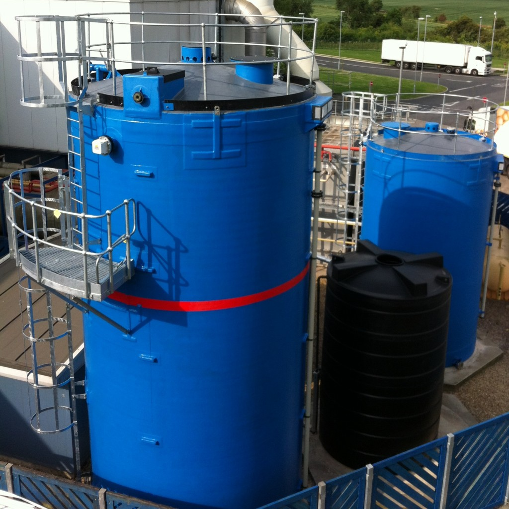 Various Forbes Storage Tanks Ranging From Small To Large