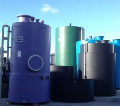 Storage tanks can be fabricated in a range of materials.