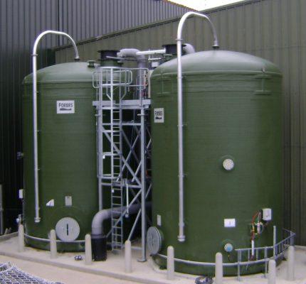 Forbes GRP Salt Saturators Pgimented Green