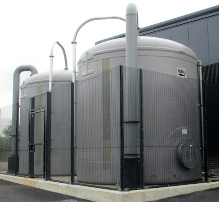Larce Salt Capacity Salt Saturators By Forbes Techonologies UK For Brine Production Supplied With Gravel Beds
